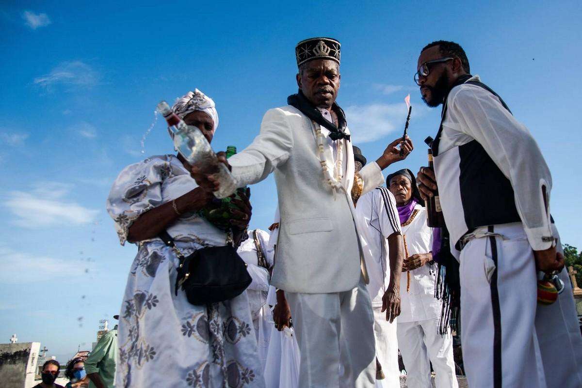 Фестиваль мертвых Фете Геде на Гаити