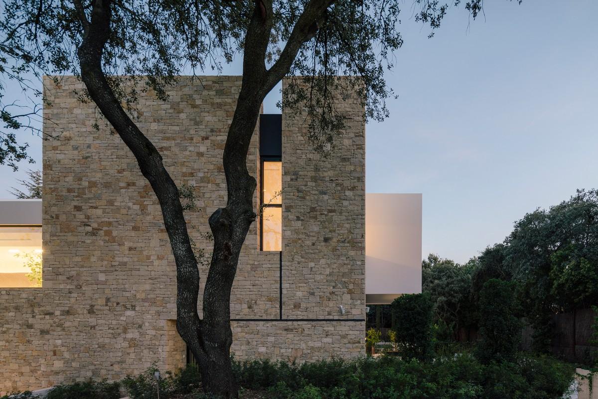 Необычный средиземноморский дом в Испании