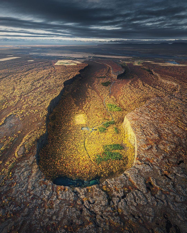 Природа и путешествия на снимках Денниса Хеллвига