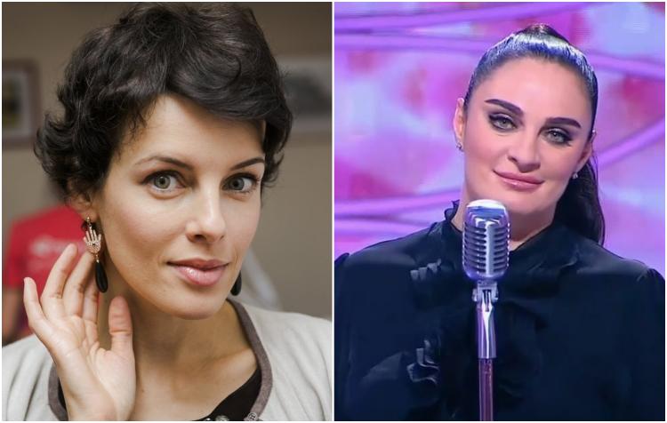 Российские и зарубежные звёзды-ровесники на сравнительных снимках
