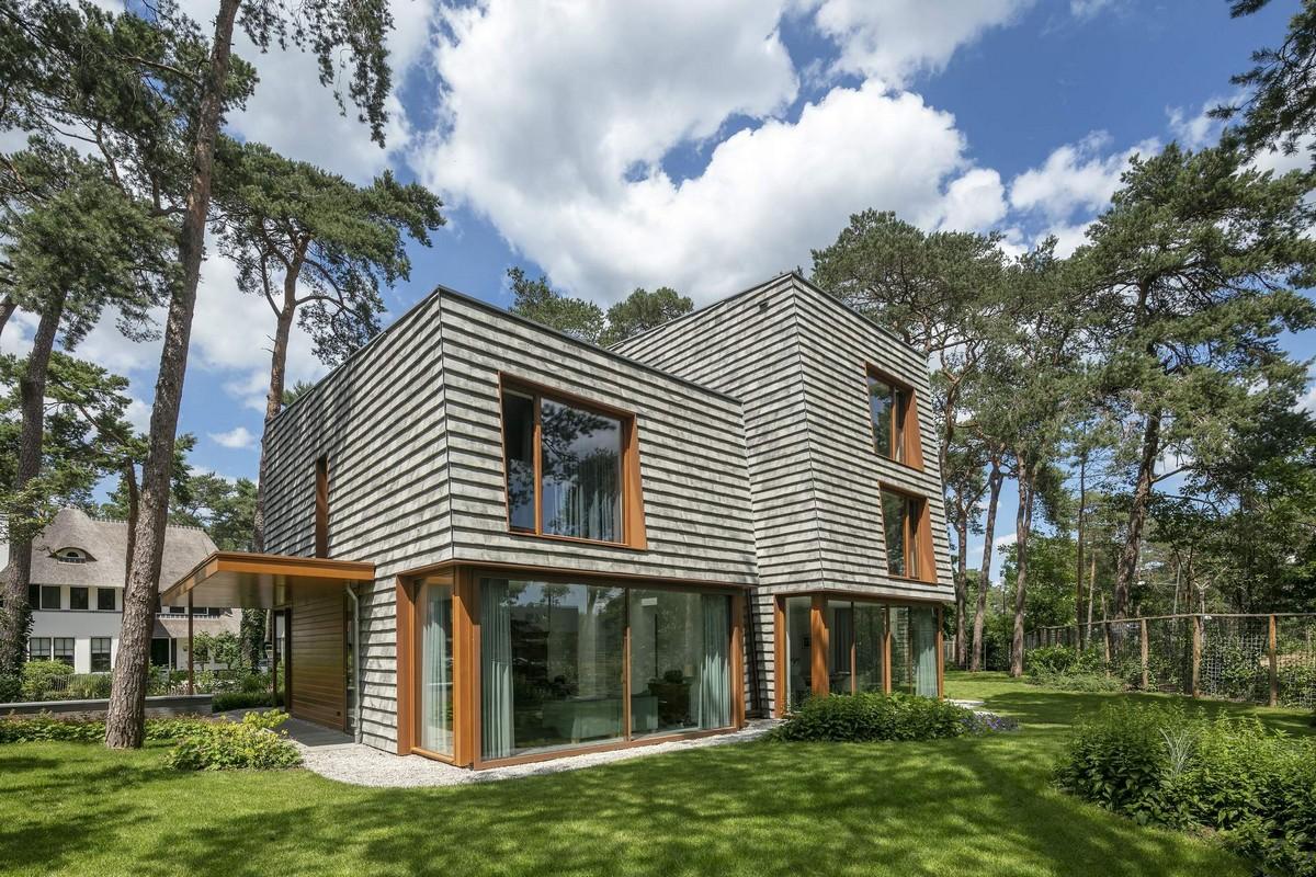 Современная загородная резиденция в Нидерландах
