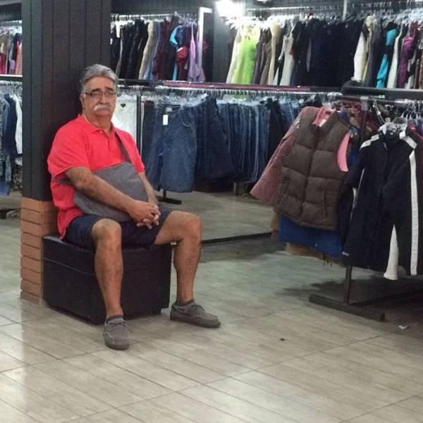Испытания для мужчин, попавших на шопинг с женщиной