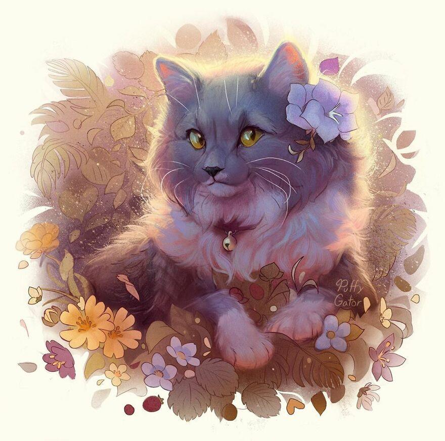 Очаровательные иллюстрации с милыми животными