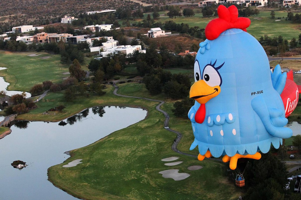 Международный фестиваль воздушных шаров в Мексике 2020
