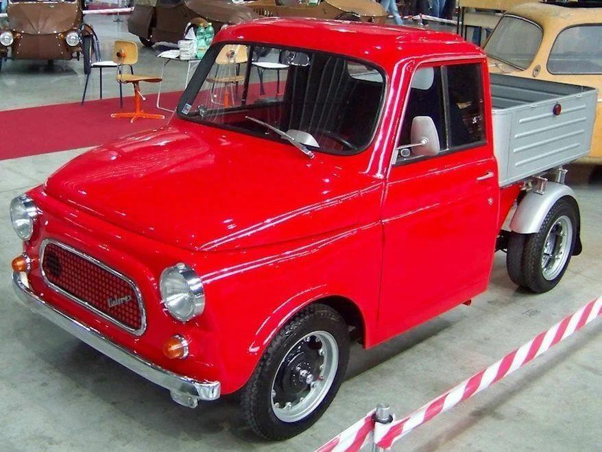 Один из самых маленьких грузовиков в мире Velorex 435 D