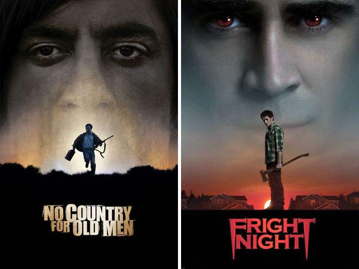 Постеры к фильмам от художников, которые любят списывать