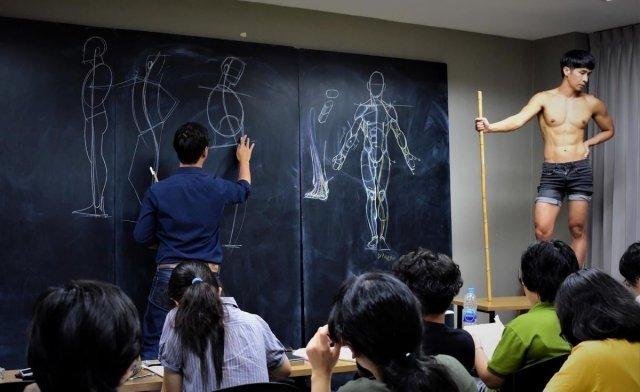 Учитель из Таиланда, к которому хочется пойти учиться рисовать