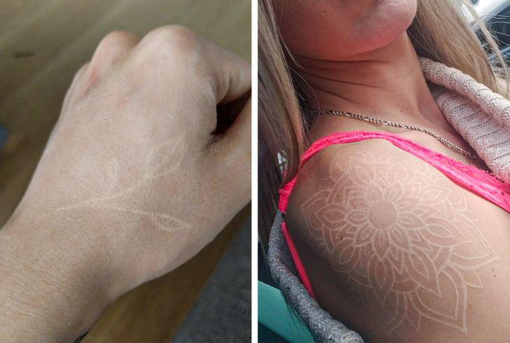 Что нужно знать, прежде чем сделать белую татуировку