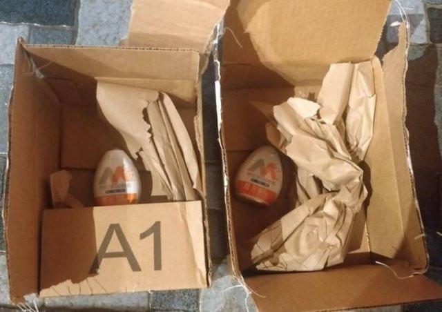 Примеры максимально чрезмерной упаковки