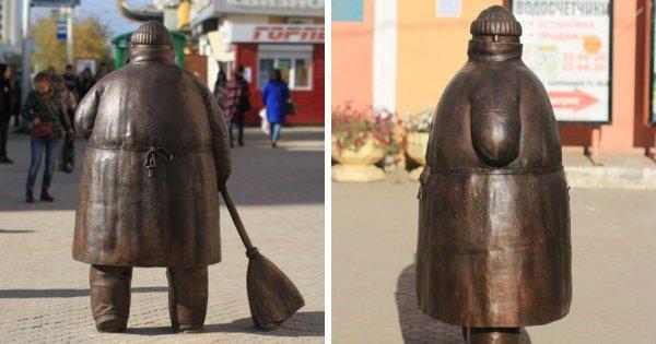 Странные и оригинальные памятники из разных городов России