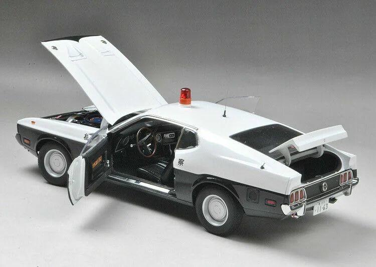 Ford Mustang Mach 1 1973 года для японской полиции