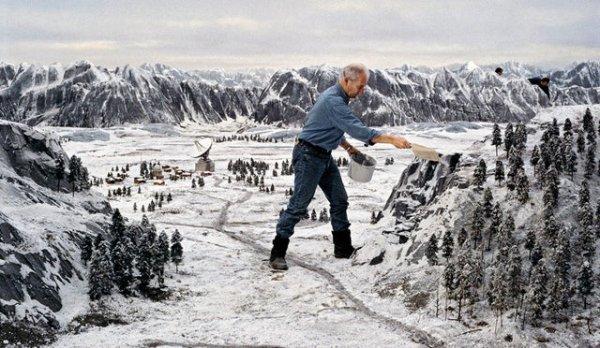 Интересные снимки со съемочных площадок известных кинокартин
