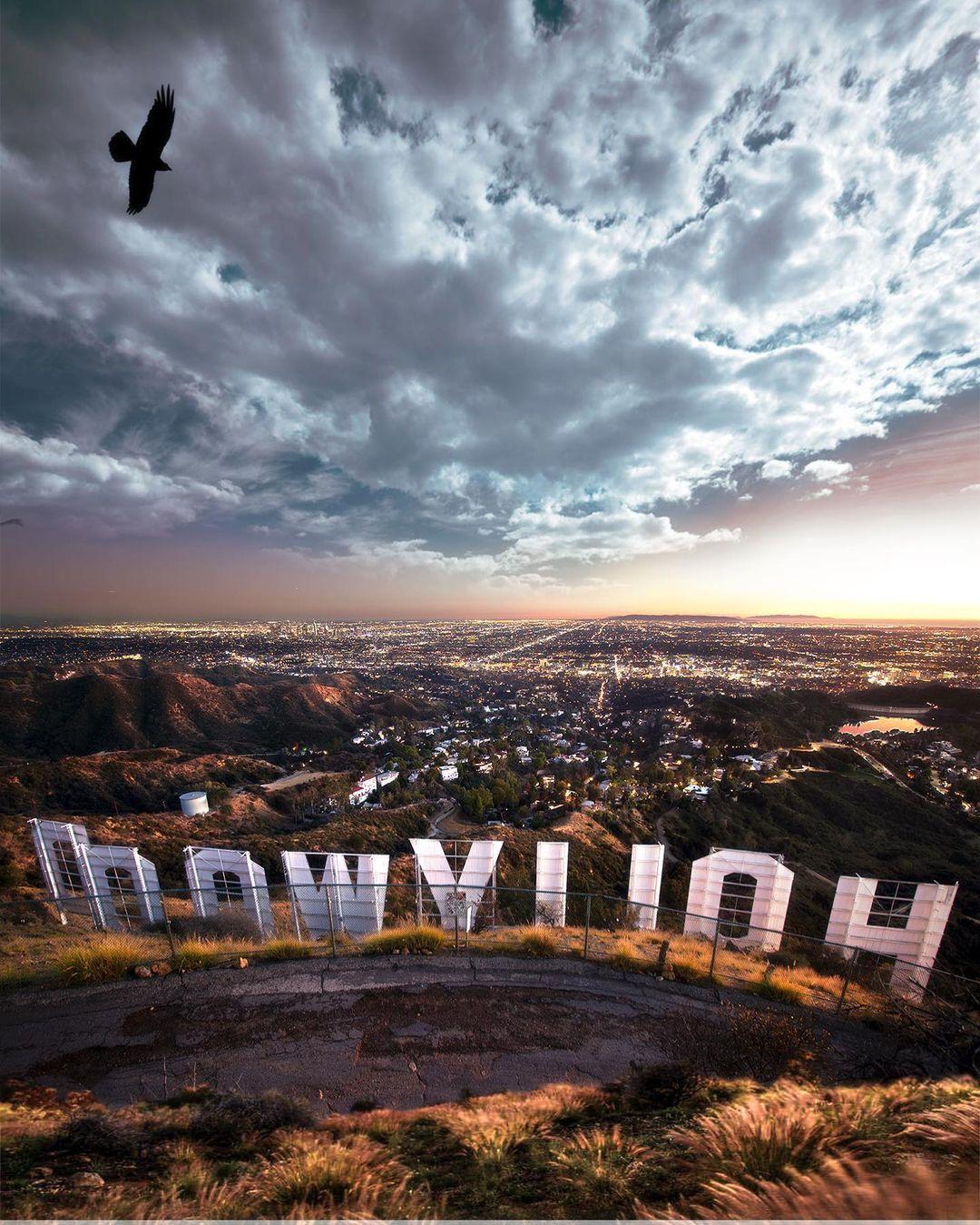 Улицы и пейзажи Калифорнии на снимках Нейта Кэрролла