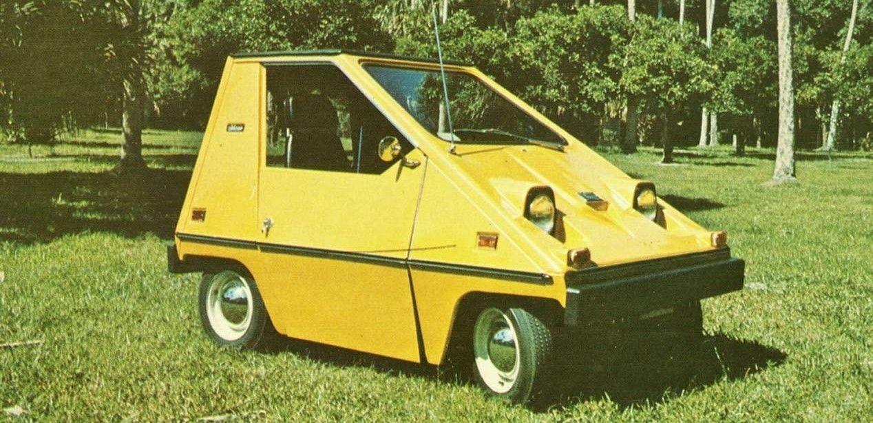 История Sebring-Vanguard CitiCar - смешной микро-машины на батарейках