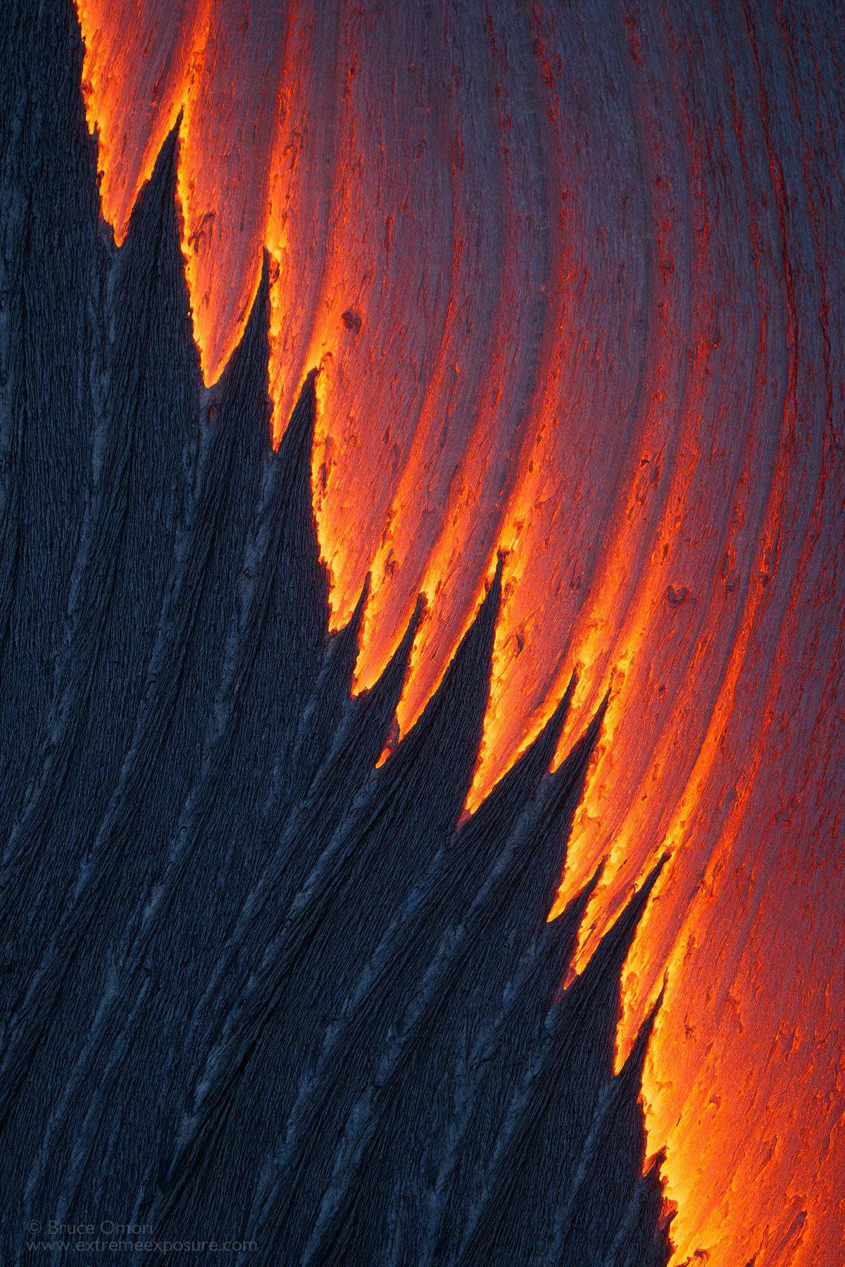 Удивительные снимки лавы, которые опасны для жизни