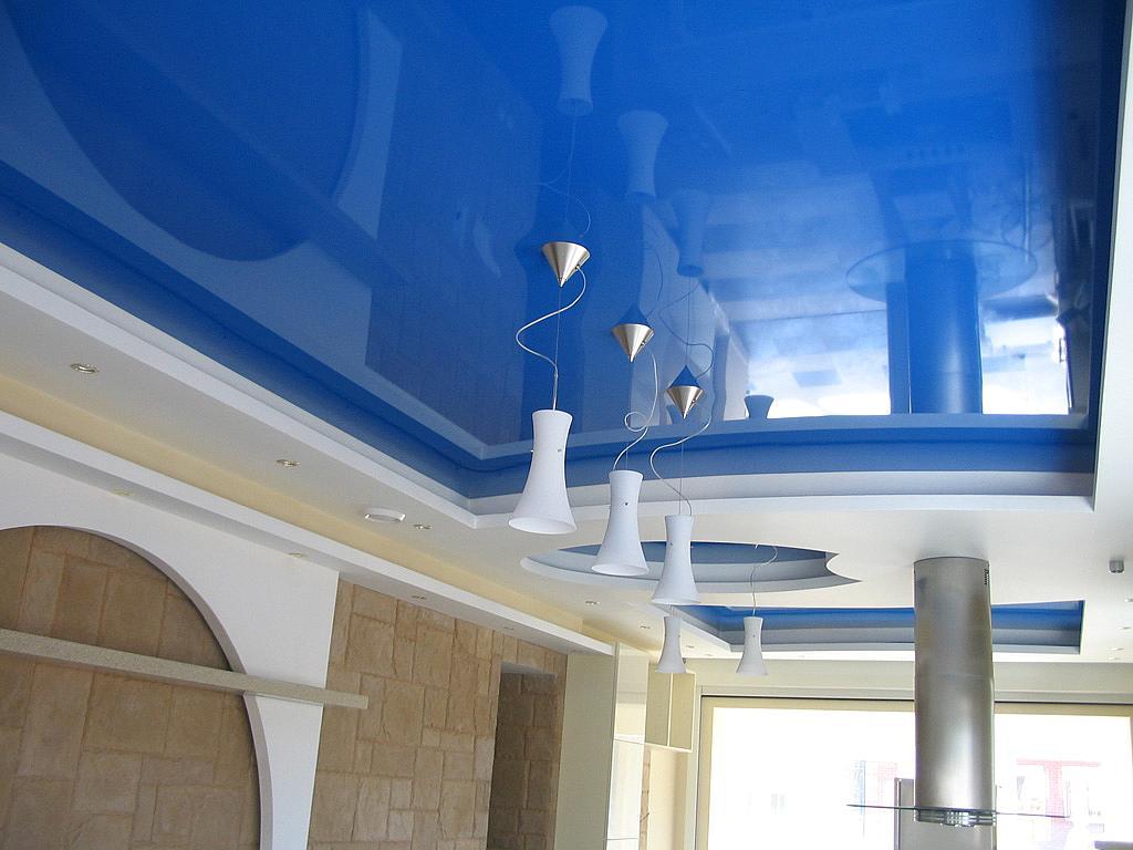 Натяжные потолки в квартире – экономия времени и сил
