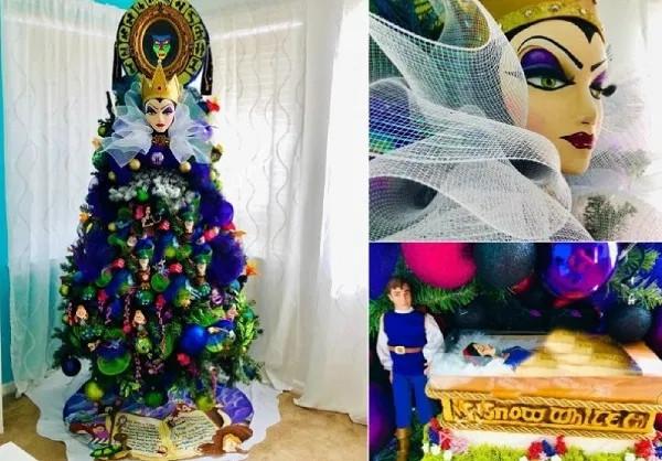Необычные новогодние ёлки в виде известных персонажей