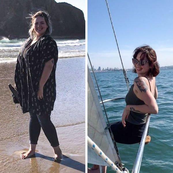 Они захотели и смогли похудеть