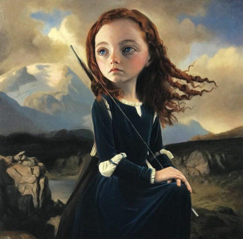 Мир странных детей на картинах испанской художницы Ольги Эстер