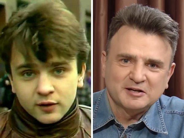 Известные российские телеведущие в молодости