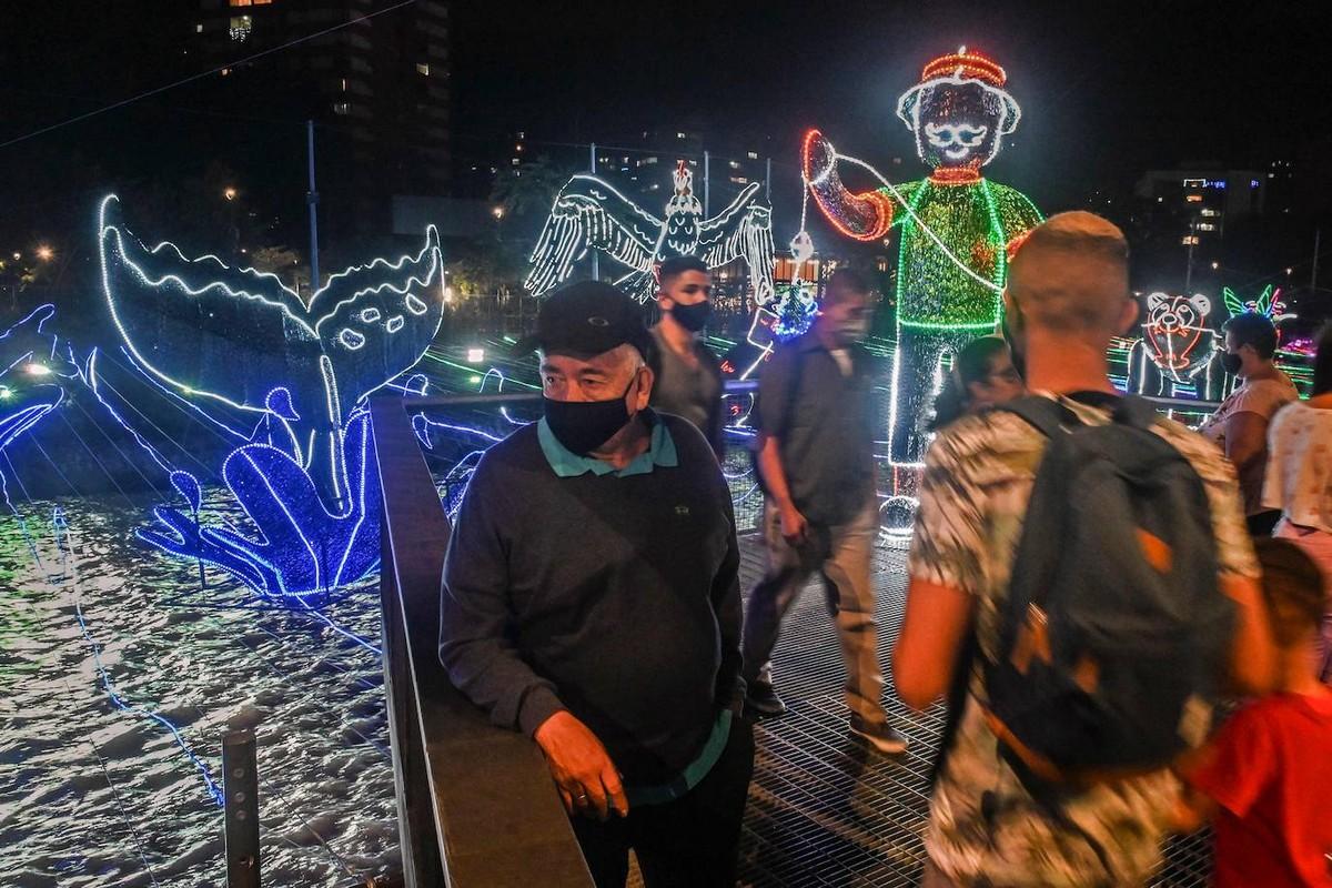 Рождественские огни в Медельине 2020