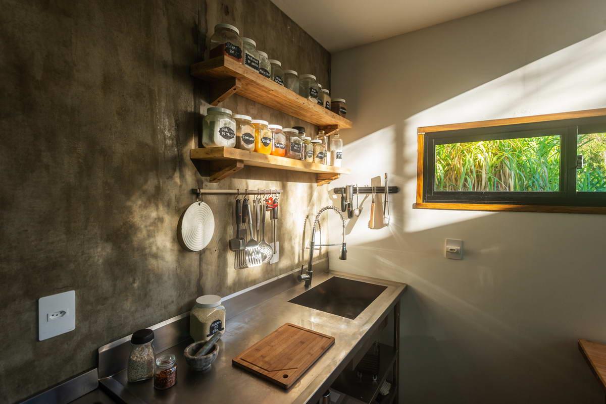 Миниатюрный дачный домик сделай сам в Бразилии