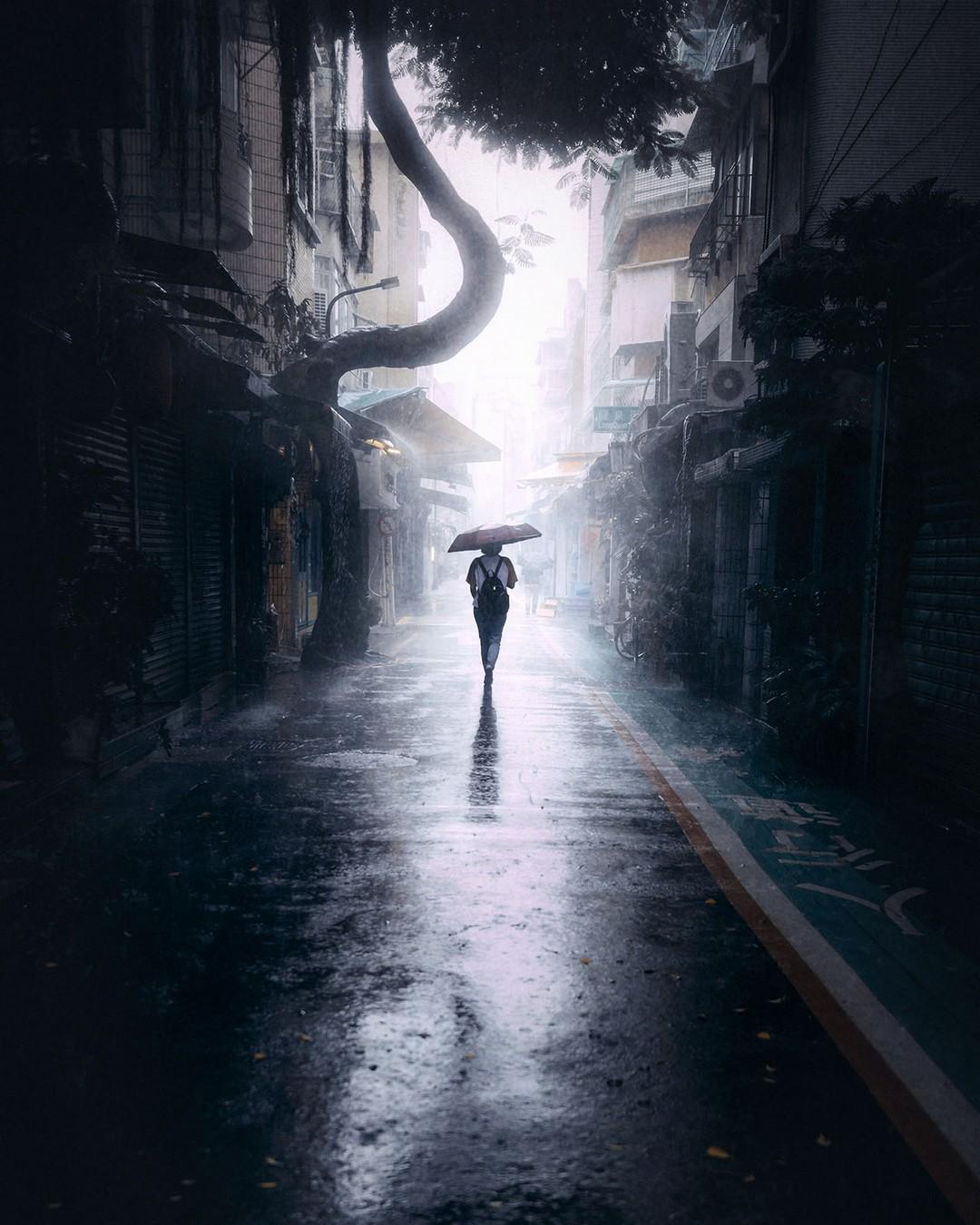 Невероятные уличные фотографии от Кельвина Ху