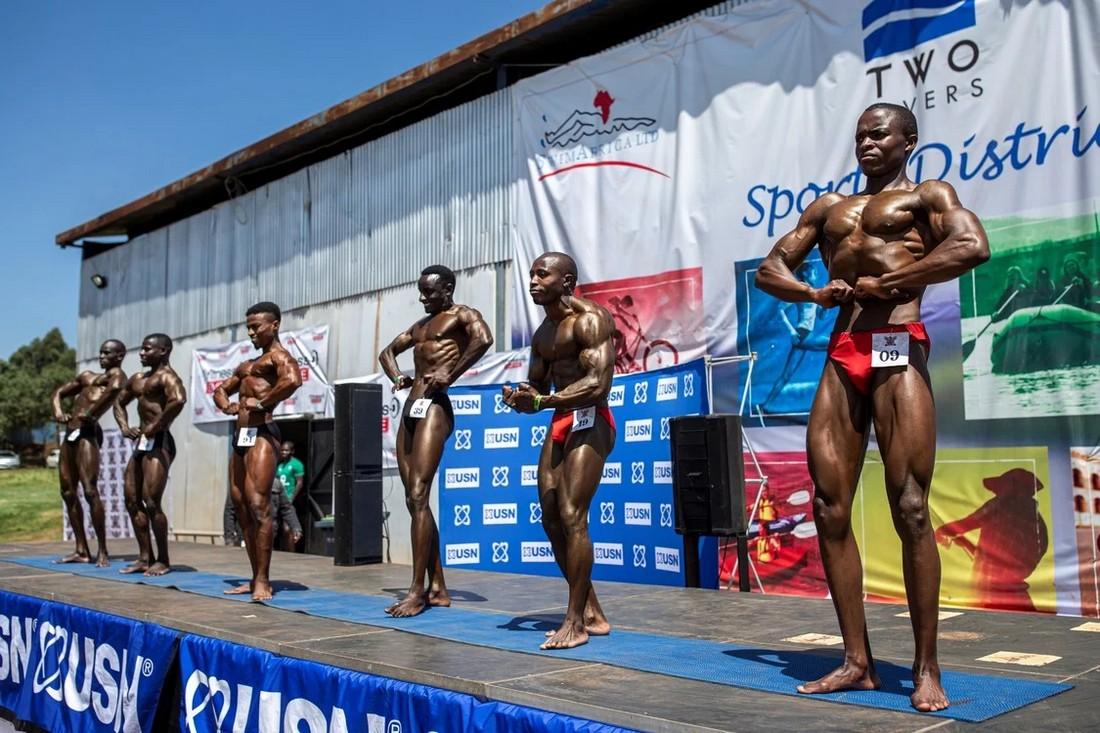 Соревнования по бодибилдингу в Найроби 2020