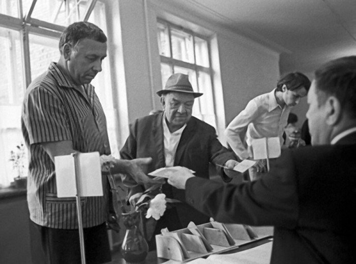 Интересные фотографии известных людей из СССР