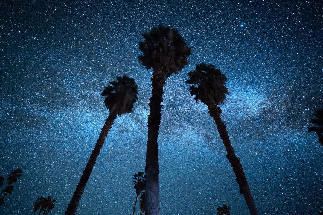 Ночное небо на астроснимках Дерека Стермена