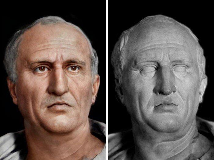 Современные технологии помогли восстановить внешность знаменитых людей древности
