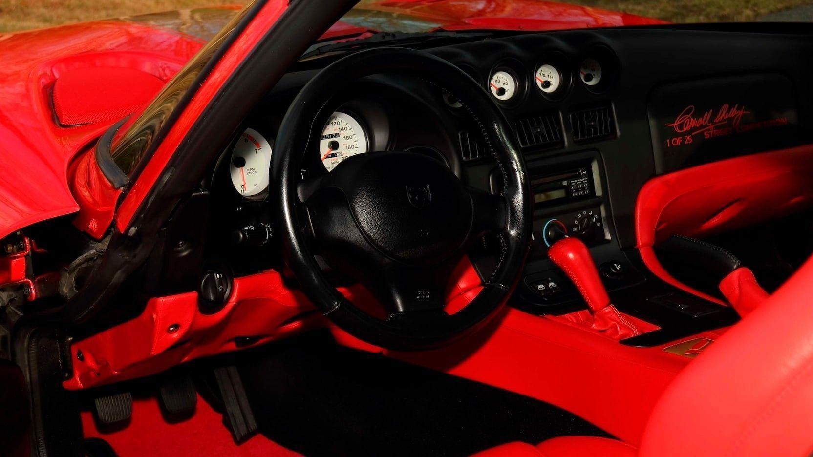 Dodge Viper GTS CS 1997 года, доработанный Кэрроллом Шелби