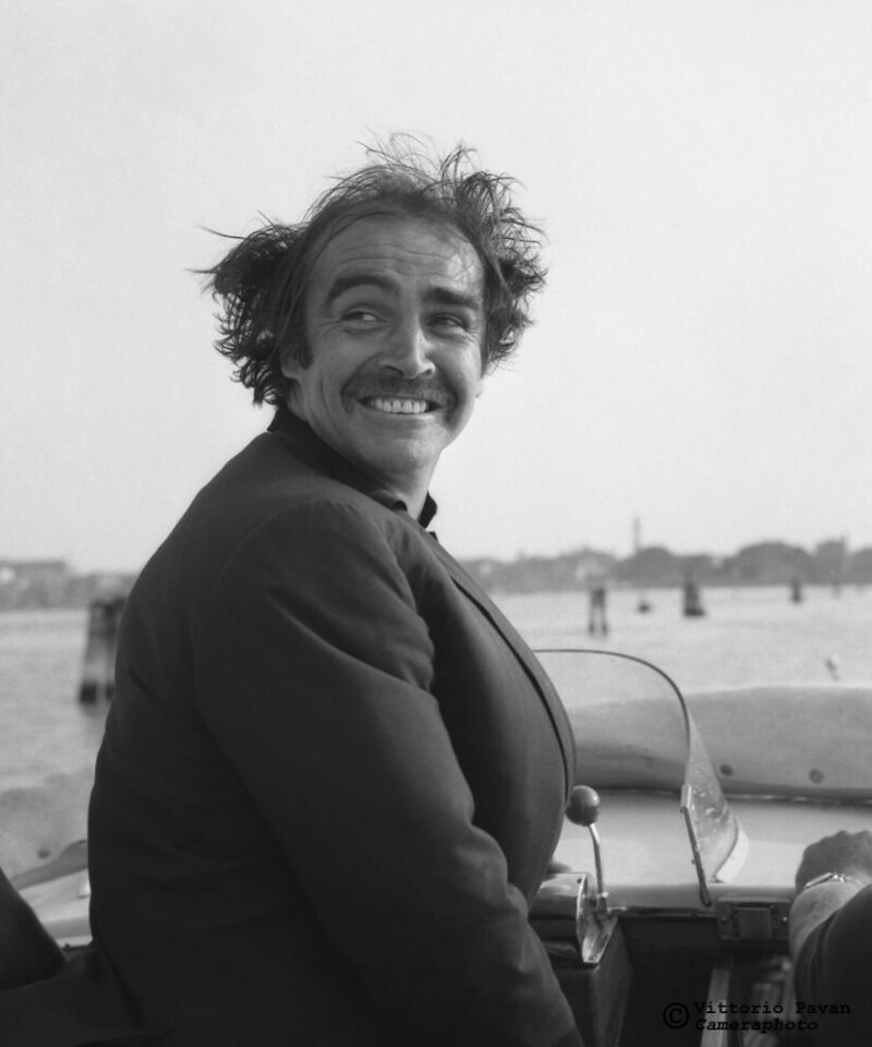Редкие снимки знаменитостей из Венеции 50-60-х годов