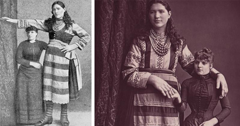 Елизавета Лыско - самая высокая девица в Российской империи