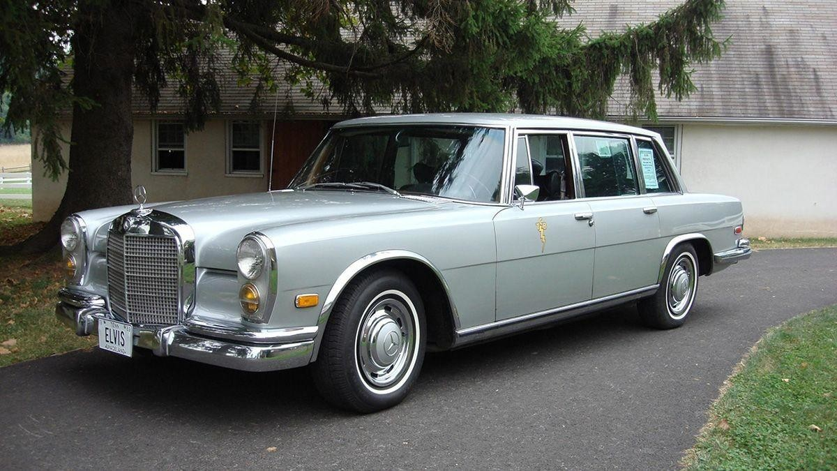 Mercedes-Benz 600 Элвиса Пресли 1969 года выставили на продажу