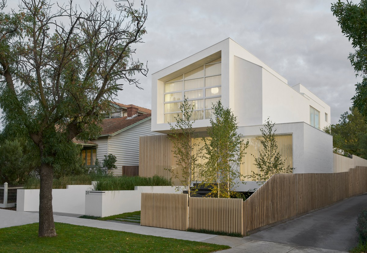 Минималистский семейный дом в Австралии