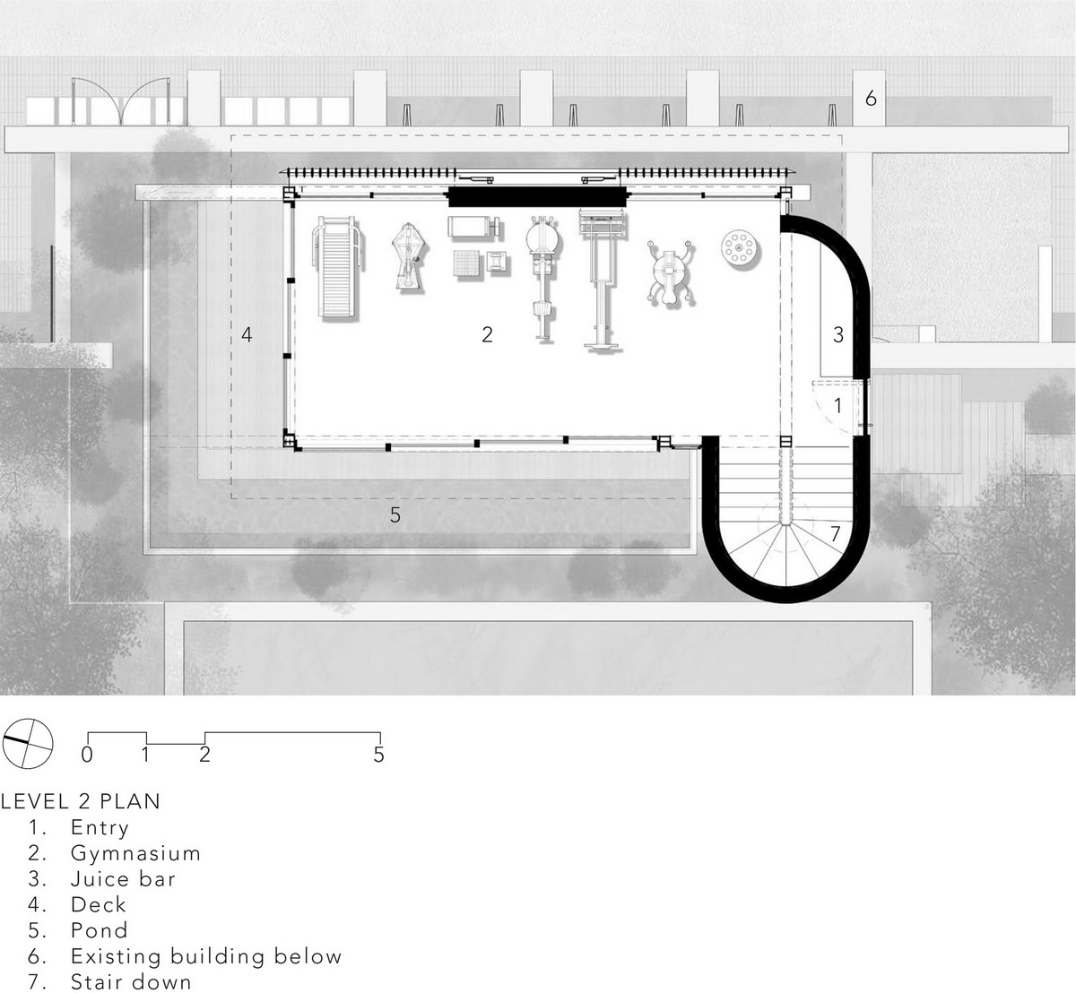 Гостевой дом с гимнастическим залом в ЮАР