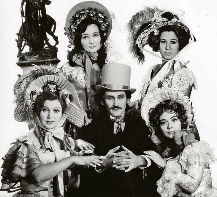 Интересные снимки советских актёров от Валерия Плотникова