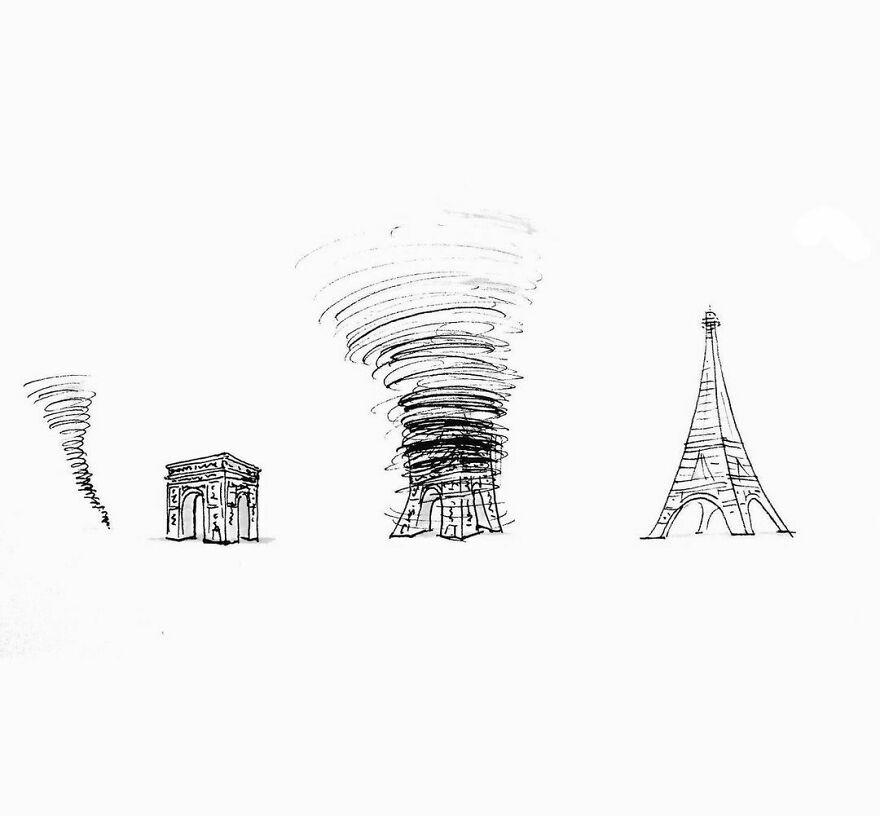 Остроумные иллюстрации от художника Tango Gao