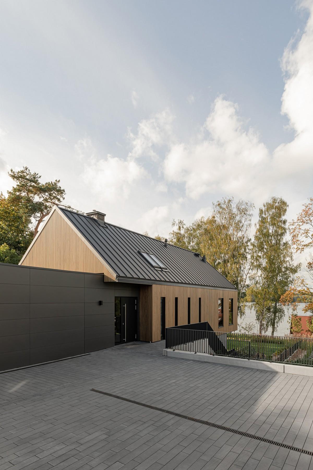 Два частных дома в Польше