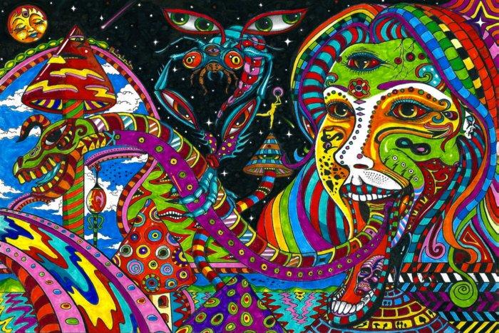 Эффект ганцфельда или сильные галлюцинации без наркотиков