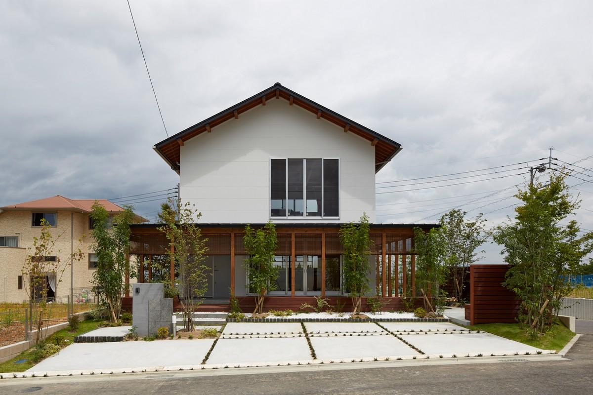 Каркасный трансформируемый дом в Японии