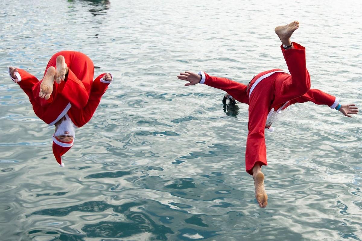 Ежегодный заплыв Рождественский кубок 2020 в Барселоне
