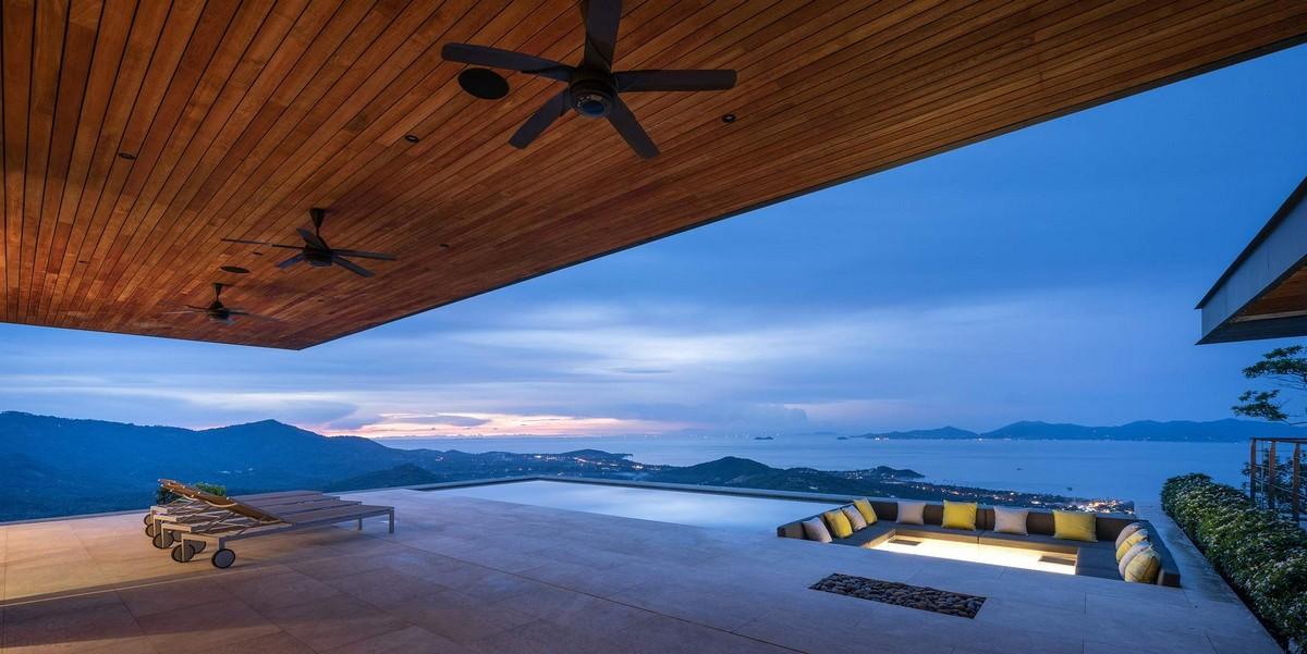 Панорамная вилла на острове Самуи в Таиланде