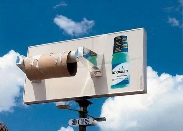 Примеры креативной рекламы, созданной талантливыми мастерами
