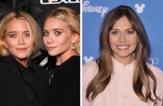 Голливудские знаменитости и их менее знаменитые братья и сёстры