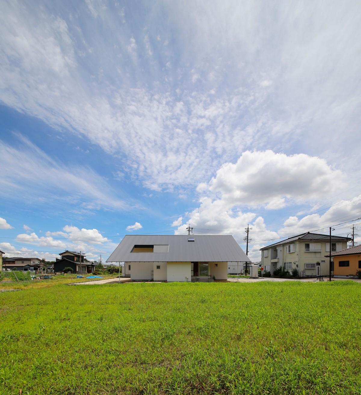 Сельский деревянный дом в Японии