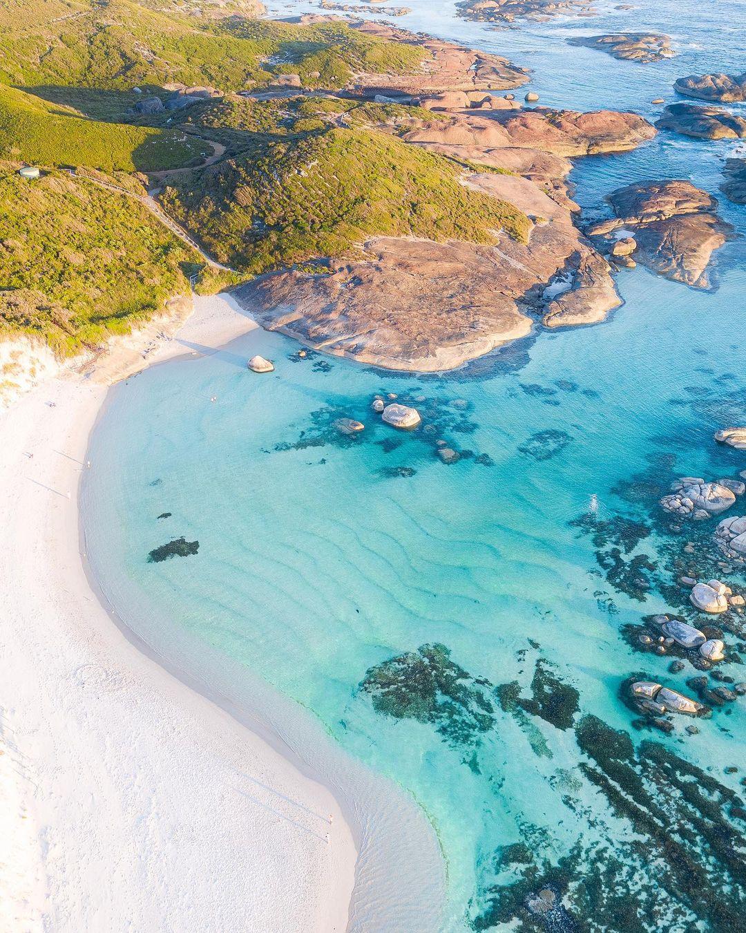 Красоты Австралии и Новой Зеландии с высоты от Митчелла Кларка