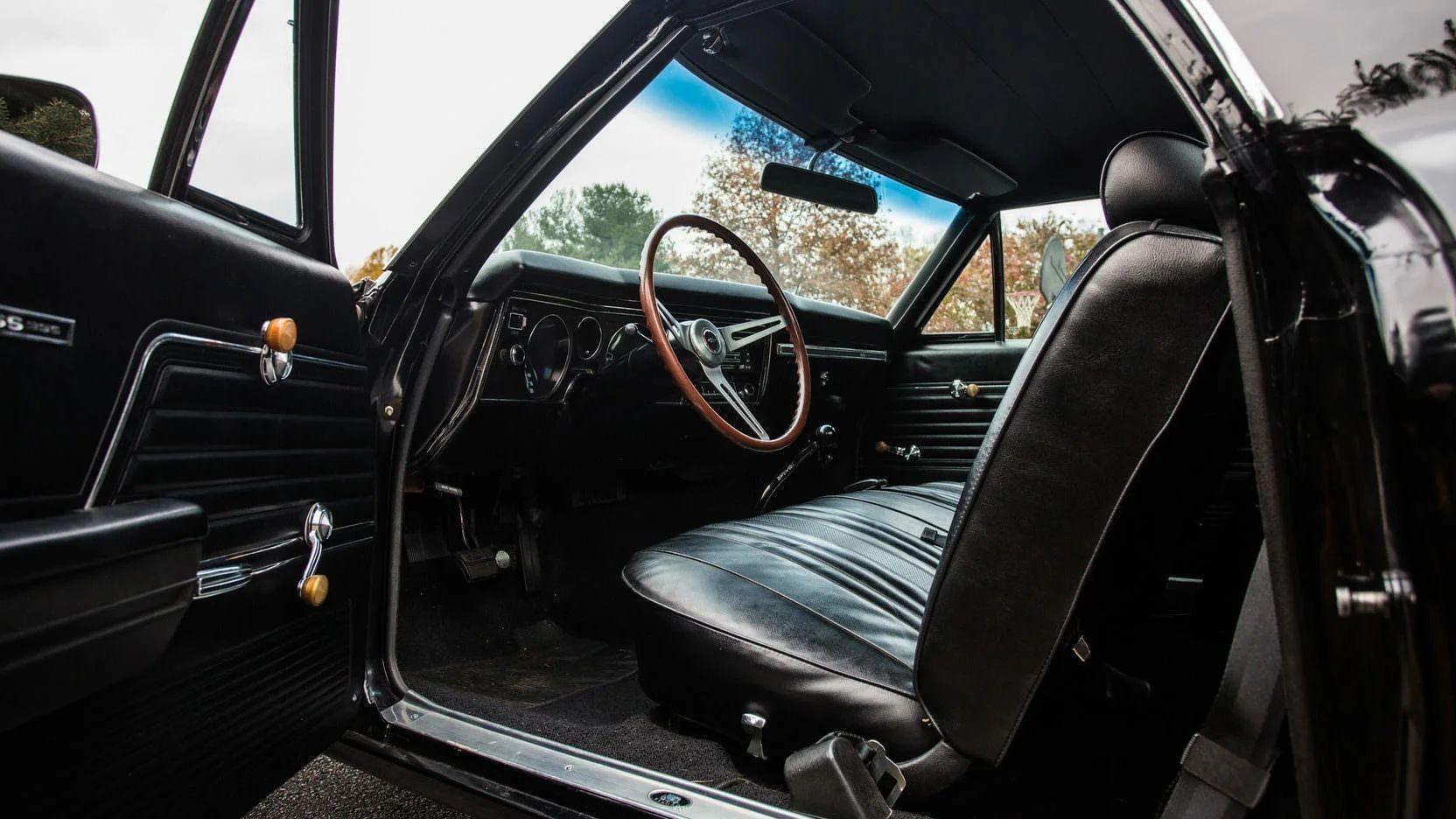 Американский мускулистый грузовик Chevrolet El Camino 1969 в австралийском стиле