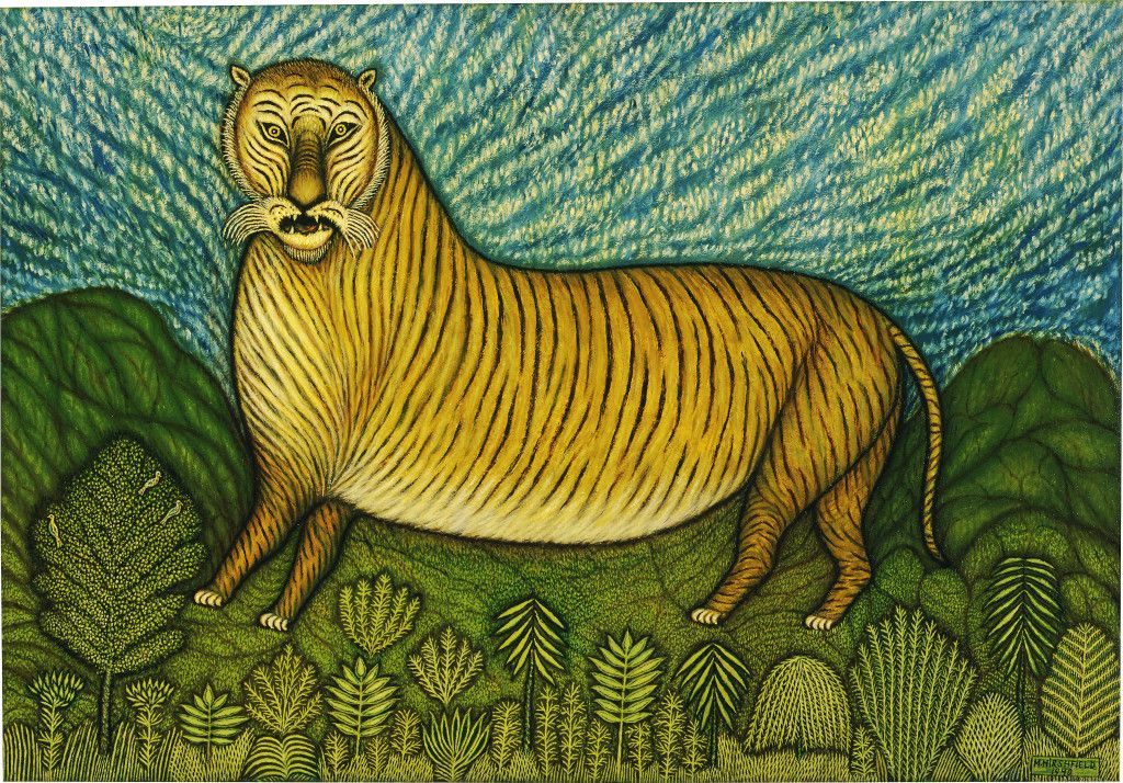 Картины Морриса Хиршфилда, который начал рисовать в 65 лет